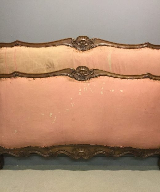 Oak French bed