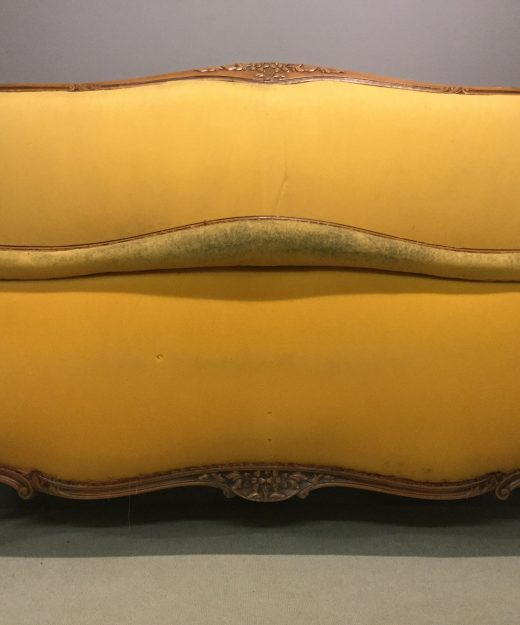 Scroll end French bed