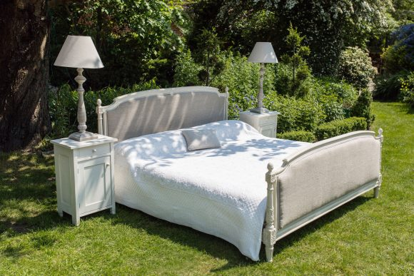 Superking Sized French Upholstered Bed